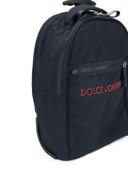 Dolce & Gabbana Kids - сумка на колесах с логотипом 683A9596950383060000