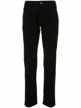 Emporio Armani прямые брюки средней посадки 6G1J061N69Z