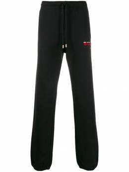 Buscemi спортивные брюки с контрастным логотипом BMW19391