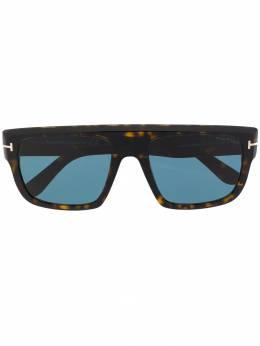 Tom Ford Eyewear солнцезащитные очки Alessio в прямоугольной оправе TF699