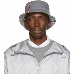 Thom Browne Grey Funmix Bucket Hat MHC299F-04906