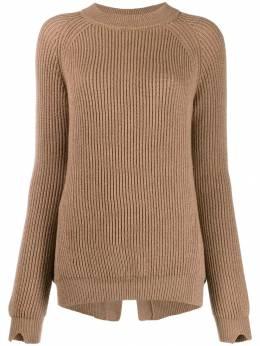 Stefano Mortari трикотажный свитер в рубчик I19252