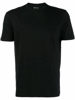 Emporio Armani футболка с вышивкой 6G1TC11J19Z