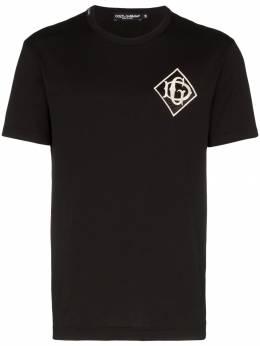 Dolce&Gabbana футболка с логотипом G8KBAZG7TWF