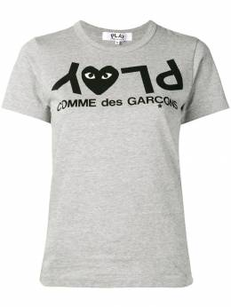 Comme Des Garcons Play футболка с принтом P1T081