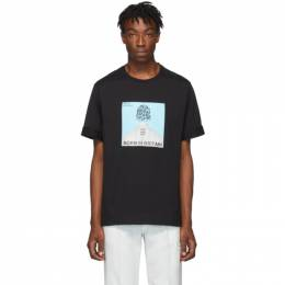 Neil Barrett Black Album Cover T-Shirt BJT629S M585S