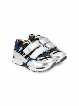 Roberto Cavalli Junior кроссовки с принтом 61484V1B