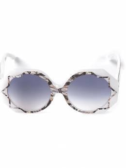 Cutler & Gross солнцезащитные очки 'Pinstripe Lace' M1072