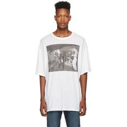 R13 White Joy Division Warsaw T-Shirt R13M3954-04