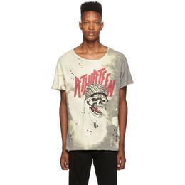R13 Grey Battle Punk Boy T-Shirt R13M3947-39