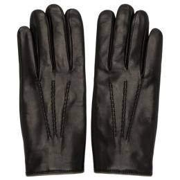 Dolce&Gabbana Black Cashmere Lined Gloves BG0132AJ084