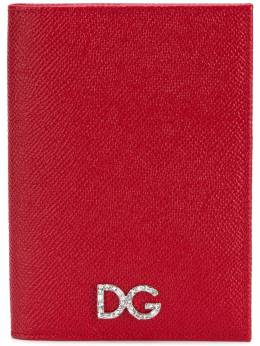 Dolce&Gabbana обложка для паспорта с логотипом BI2215AU771