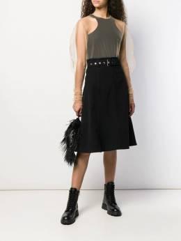 Comme Des Garçons Noir Kei Ninomiya - полупрозрачная блузка 666W9995309390000000