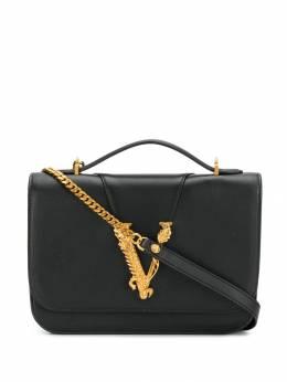 Versace сумка на плечо с логотипом V-Barocco DBFG985D5VIT