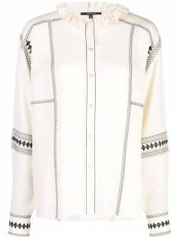 Derek Lam рубашка на пуговицах с длинными рукавами DP91706GG