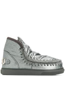 Mou ботинки Eskimo с эффектом металлик FW111008C