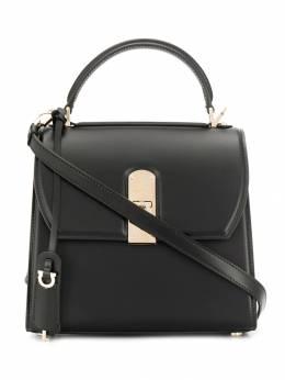 Salvatore Ferragamo сумка на плечо с металлическим логотипом 716090