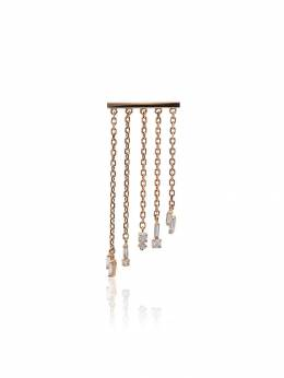 Suzanne Kalan Fringe 18K rose gold and diamond earrings BAE461RG