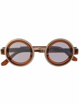 Kuboraum солнцезащитные очки Z3 в круглой оправе