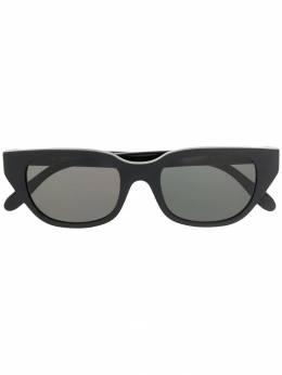 Retrosuperfuture солнцезащитные очки в трапециевидной оправе J90