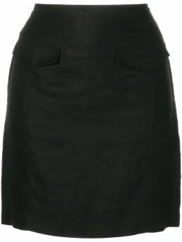 Versace Pre-Owned облегающая мини юбка VER180CC