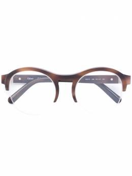 Chloe Eyewear очки в круглой оправе CE2711