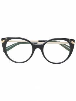 Bvlgari очки 'кошачий глаз' BV4150