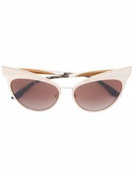 Dolce&Gabbana Eyewear классические солнцезащитные очки 'кошачий глаз' DG2178
