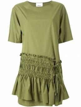 3.1 Phillip Lim платье шифт с присборенной панелью PS169468POP