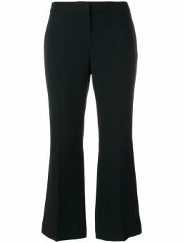 Alexander McQueen укороченные брюки 470963QKE40