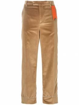 The Gigi расклешенные брюки с контрастной аппликацией TERESAGD002