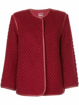 Issey Miyake Pre-Owned текстурная куртка MH34611