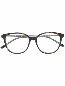 Bottega Veneta Eyewear очки в квадратной оправе BV0137O