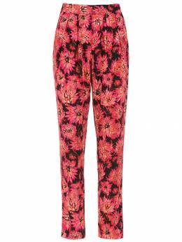Andrea Marques printed straight trousers CALCAPREGAS