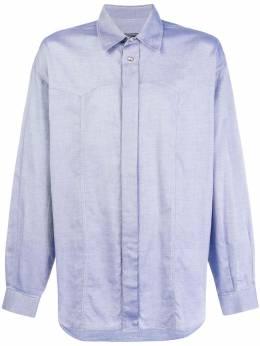 Versace Pre-Owned рубашка свободного кроя VER250B