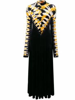 Proenza Schouler платье с высоким воротом и узором тай-дай R1843099JYP43