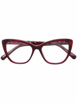 Stella Mccartney Eyewear очки в оправе формы кошачий глаз SC0164O