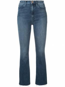 Mother джинсы 'Hustler' с бахромой 1117104