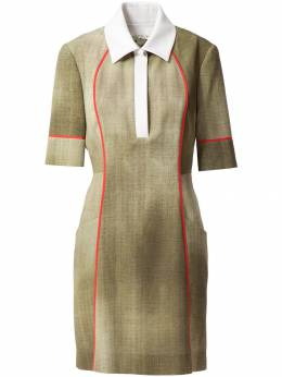 Fendi платье с воротником-поло FD879947H