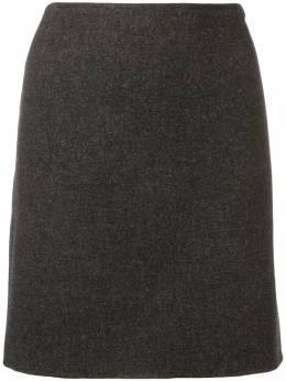 Prada Pre-Owned юбка прямого кроя 1990-х годов PRA120C