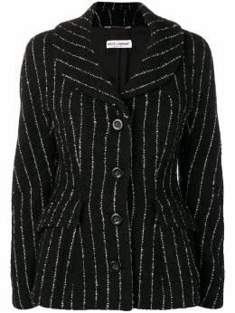 Dolce&Gabbana Pre-Owned куртка в тонкую полоску 1990-х DGWJ280