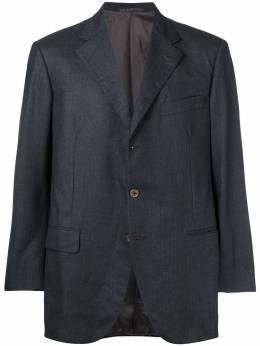 Burberry Pre-Owned пиджак в тонкую полоску BUR280D