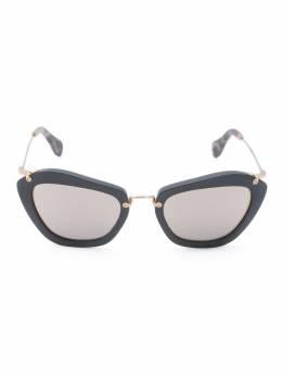 Miu Miu Eyewear солнцезащитные очки 'Noir' 10N1BO2D255241401N