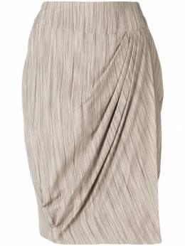 Giorgio Armani Pre-Owned юбка-шорты со складками GAR150F