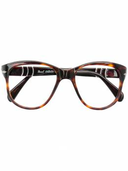 Persol Pre-Owned очки оверсайз PRSOL300