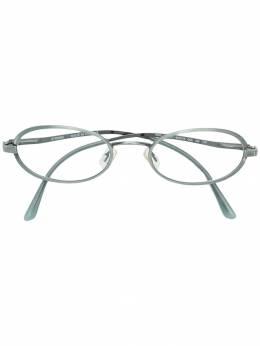Fendi Pre-Owned очки узкие FED180N