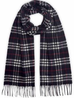 Burberry кашемировый шарф в клетку 4075254