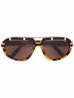 Cazal солнцезащитные очки в черепаховой оправе 884