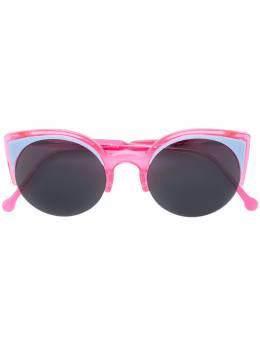 Retrosuperfuture солнцезащитные очки в оправе 'кошачий глаз' 0U6
