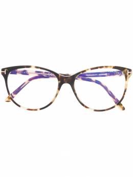 Tom Ford Eyewear очки в круглой оправе TF5544B